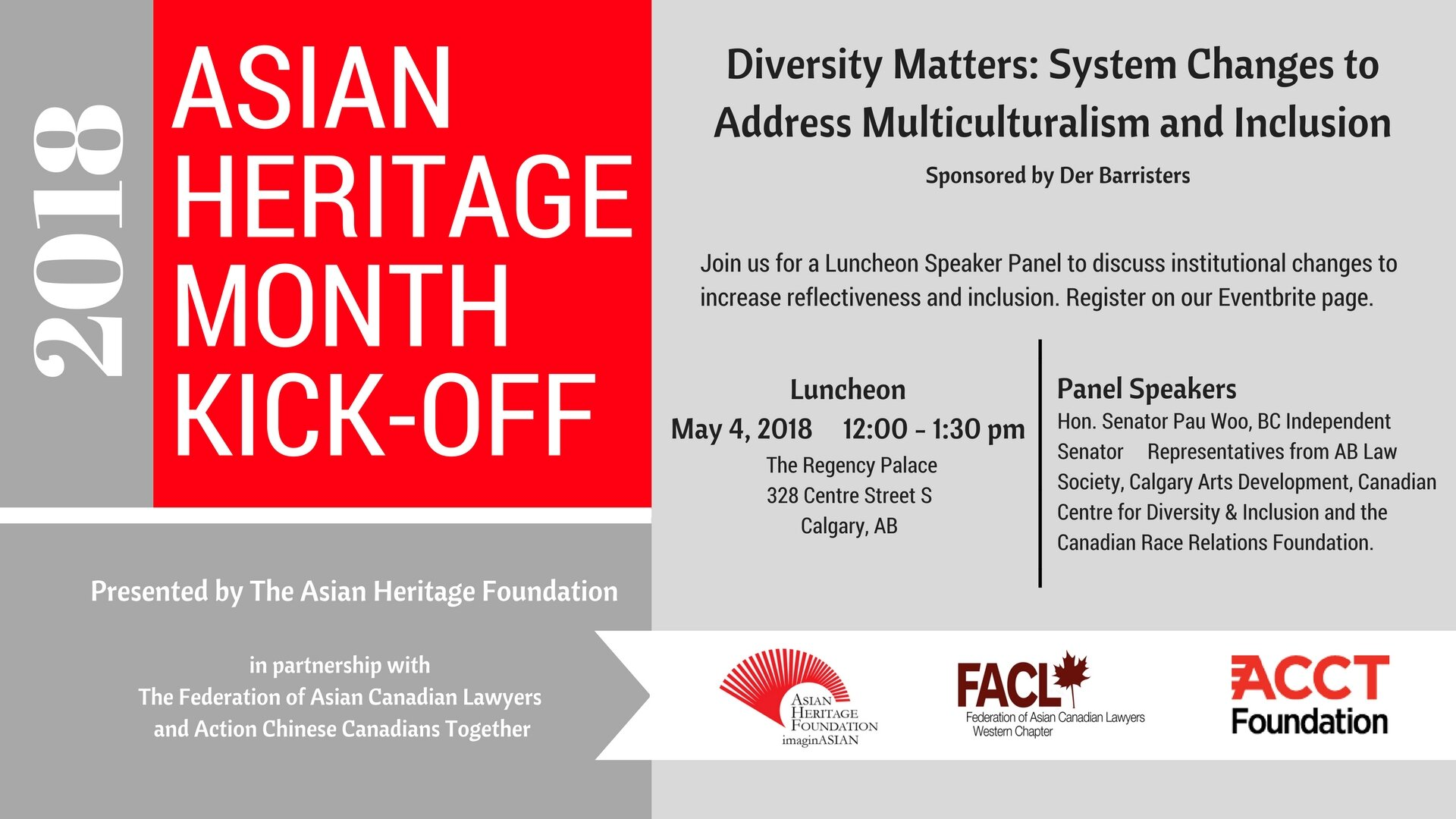 Celebrate The Launch Of 2018 Asian Heritage Month